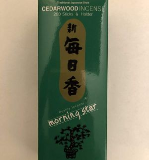 Spiders may hate the fragrance of cedar incense