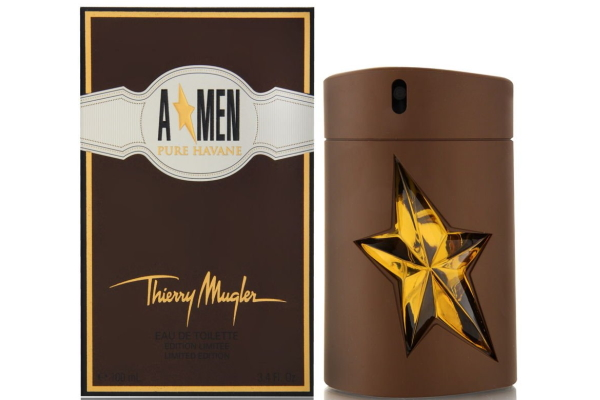 Best tobacco fragrances for men: Thierry Mugler Angel For Men Pure Havane