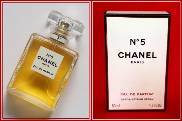 Image of Chanel No 5 and box