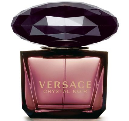 Best Clubbing Fragrances for Women: Crystal Noir by Versace