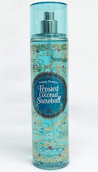 Coconut perfume: Frosted Coconut Snowball