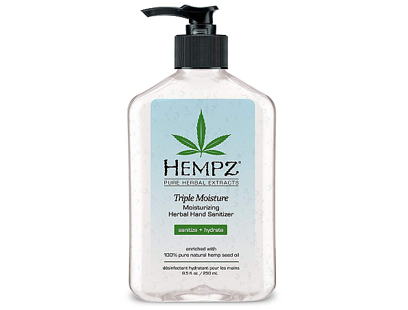 Can I use hand sanitizer a aftershave? Hempz