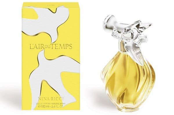 Perfume for older women: L'Air du Temps