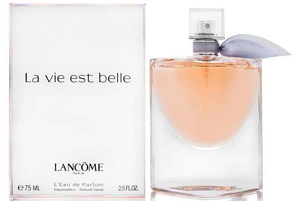 Perfume for older women: La vie est belle