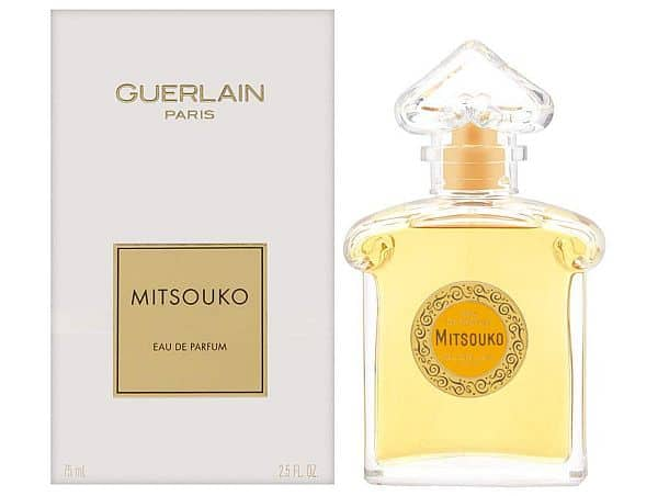 Perfume for older women: Mitsouko