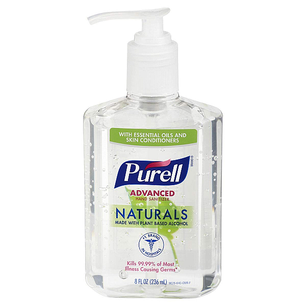Can I use hand sanitizer a aftershave? Purell