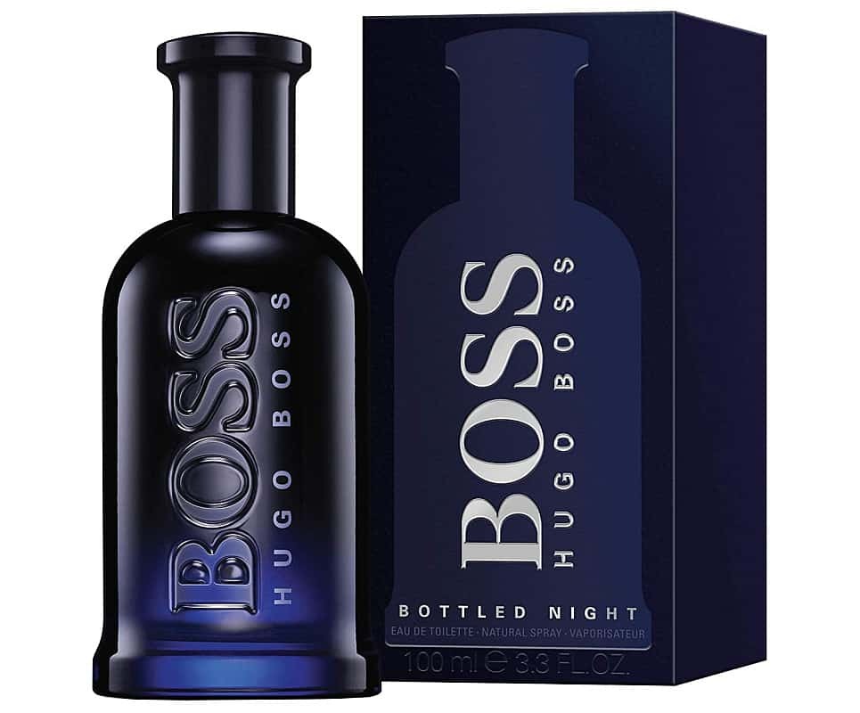 Best Lavender colognes: Hugo Boss Bottled Night is one of them